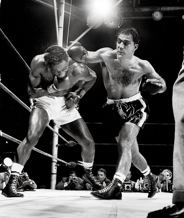 Is Maidana Rocky Marciano to Mayweather's Ezzard Charles?