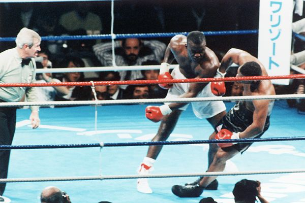 Image result for mike tyson buster douglas 1990