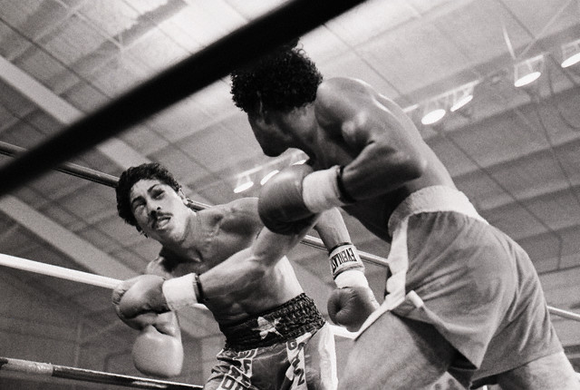 Wilfredo Gomez Dazed By Salvador Sanchez Punch