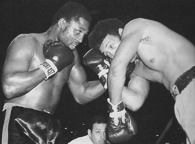 Joe dominating Jimmy Ellis.