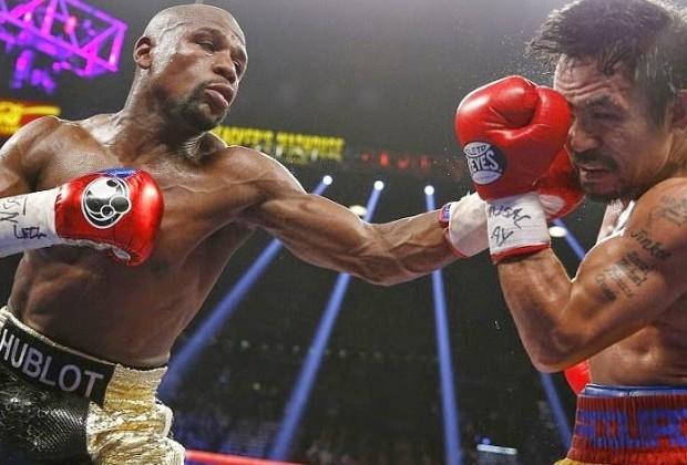 Mayweather beat Pacquiao