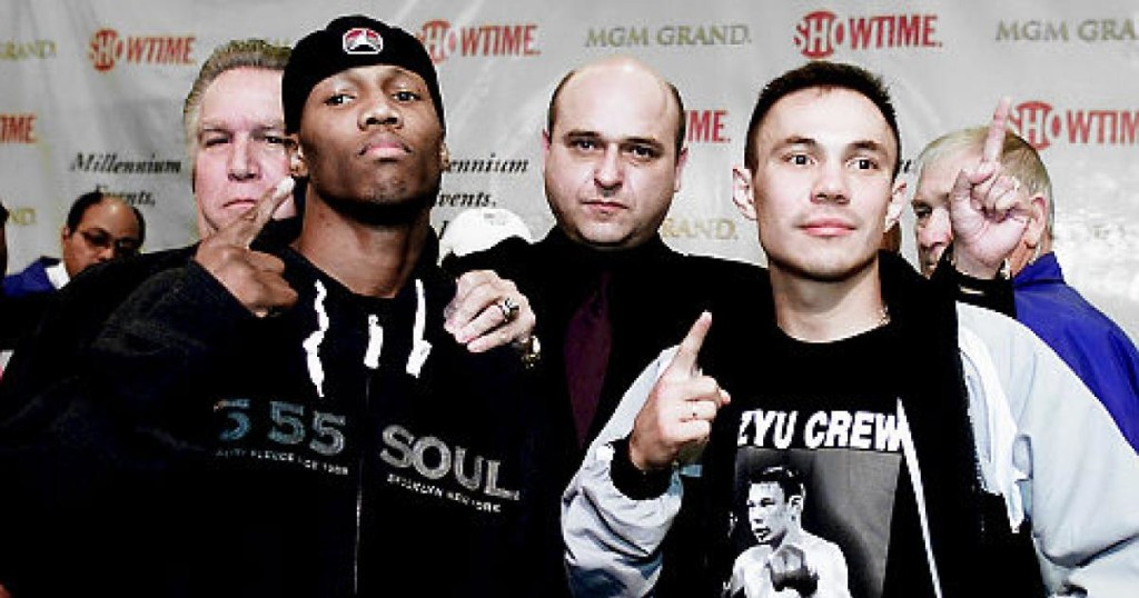 Zab Judah and Kostya Tszyu would battle it our for the undisputed 140 pound title.