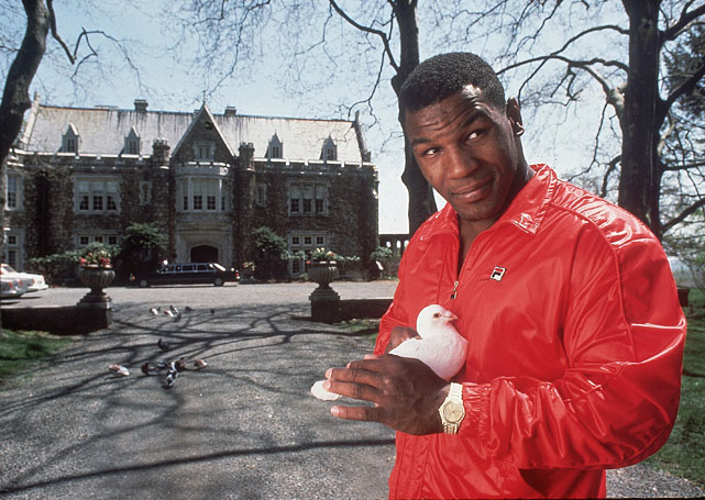 Mike sure did love his pigeons.