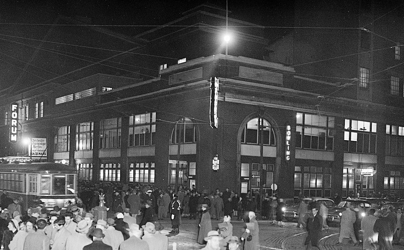 The Montreal Forum