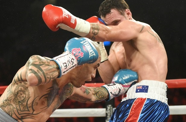 A solid body jab by Cotto deflates Geale.