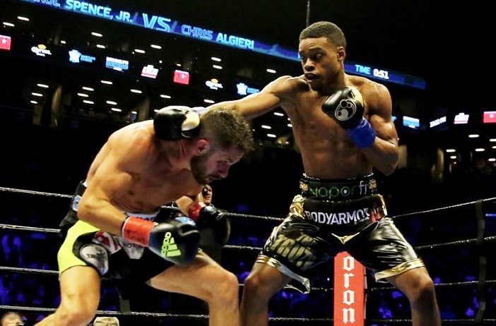 Spence dominates Algieri: a hot spoon through ice cream.