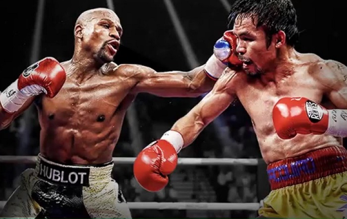 Moving on from the MayPac era. Thank god.