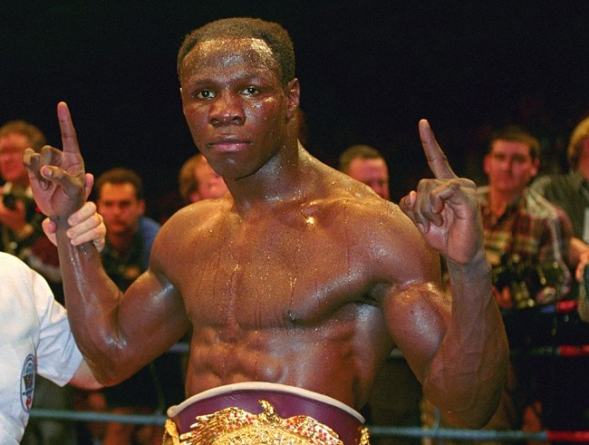 Chris Eubank, circa 1994.