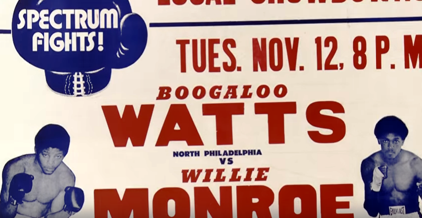 Watts was a staple attraction during the Spectrum's boxing heyday.