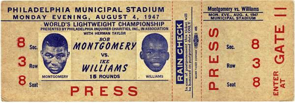 ike vs montgomery ticket