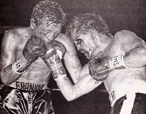 Duarte edged Davila in a bloody brawl to set up a final title shot.