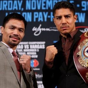 Pacquiao vs Vargas: not much buzz.