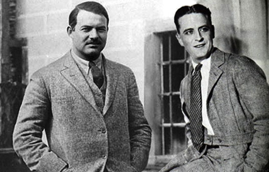 Hemingway and Fitzgerald: A Comparison [Infographic]