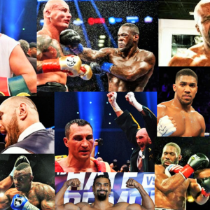 Heavyweight collage