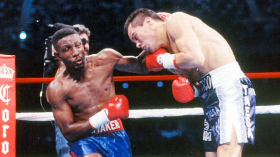 """Sweet Pea"" Pernell Whitaker's defense was too much even for the great Julio Cesar Chavez"