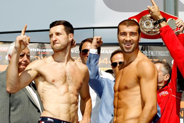 Bute appeared relaxed and confident at the weigh-in; it was an illusion.