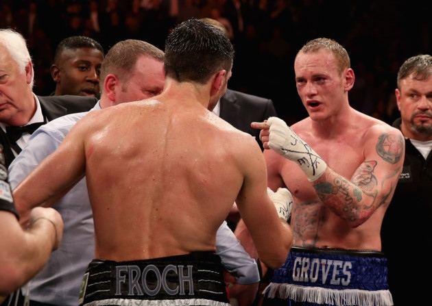 Groves, and the public, demanded a rematch.