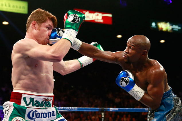Mayweather had a much easier time against Canelo than against Maidana