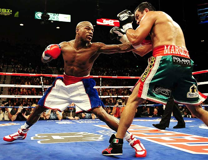 Could Floyd dominate Manny the way he did Marquez?
