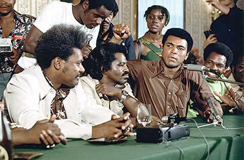 Don King press conference, Ali-Brown