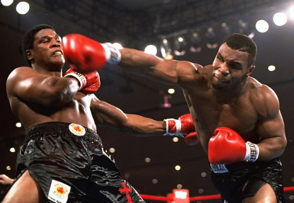 Tyson's thunderous power made him the youngest heavyweight champ in history.