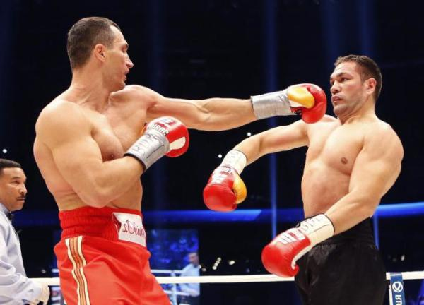 Germany Boxing Klitschko Pulev