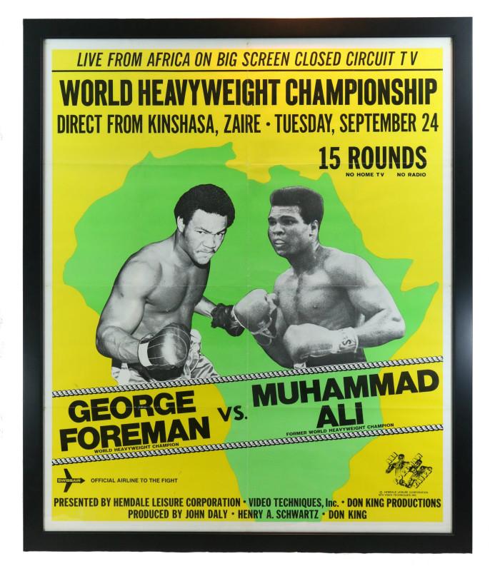 MUHAMMAD-ALI-GEORGE-FOREMAN-ZAIRE-AFRICA-1974-FRAMED-ORIGINAL-POSTER-1-693x800