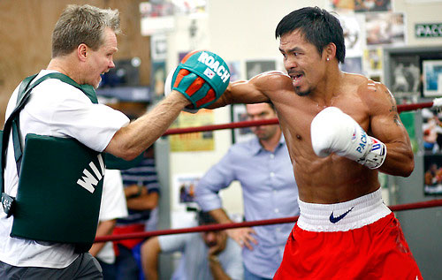 Roach has worked wonders with Pacquiao