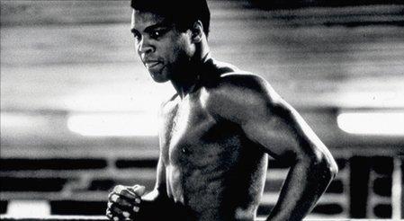 Ali training in N'Sele: