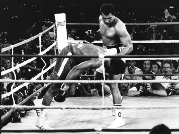 Muhammad Ali, George Foreman,