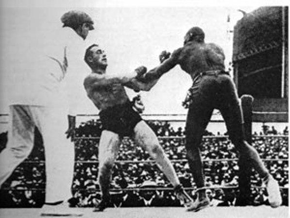 Dec. 26, 1908: Burns vs Johnson