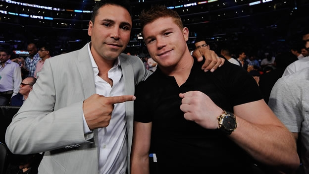 Oscar De La Hoya may have to think carefully about this next move