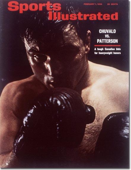 Heavyweight Boxer - George Chuvalo February 1, 1965 X 10465 credit: Jay Maisel