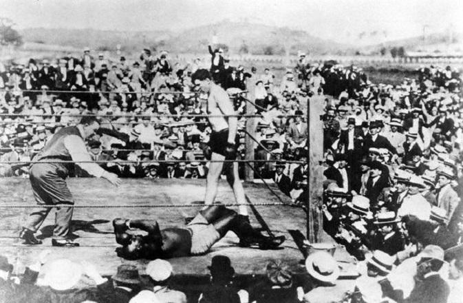 April 5, 1915: Johnson vs Willard