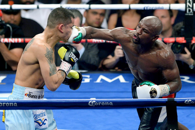 Floyd Mayweather Jr. v Marcos Maidana - The Fight CityThe Fight City