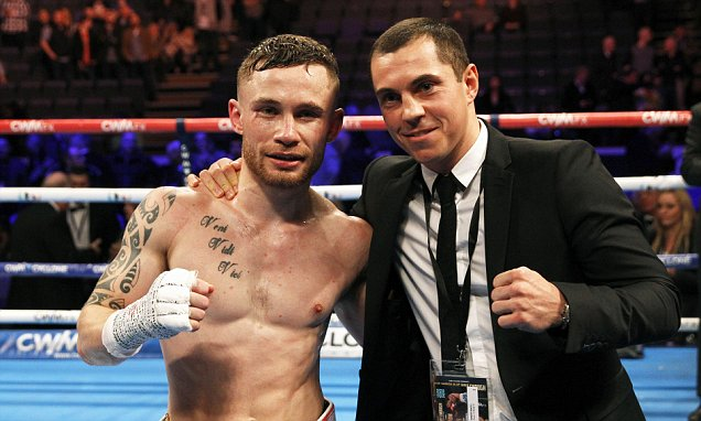 Both Frampton and Quigg return to action in July.