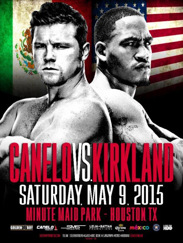 KIRKland-Canelo poster