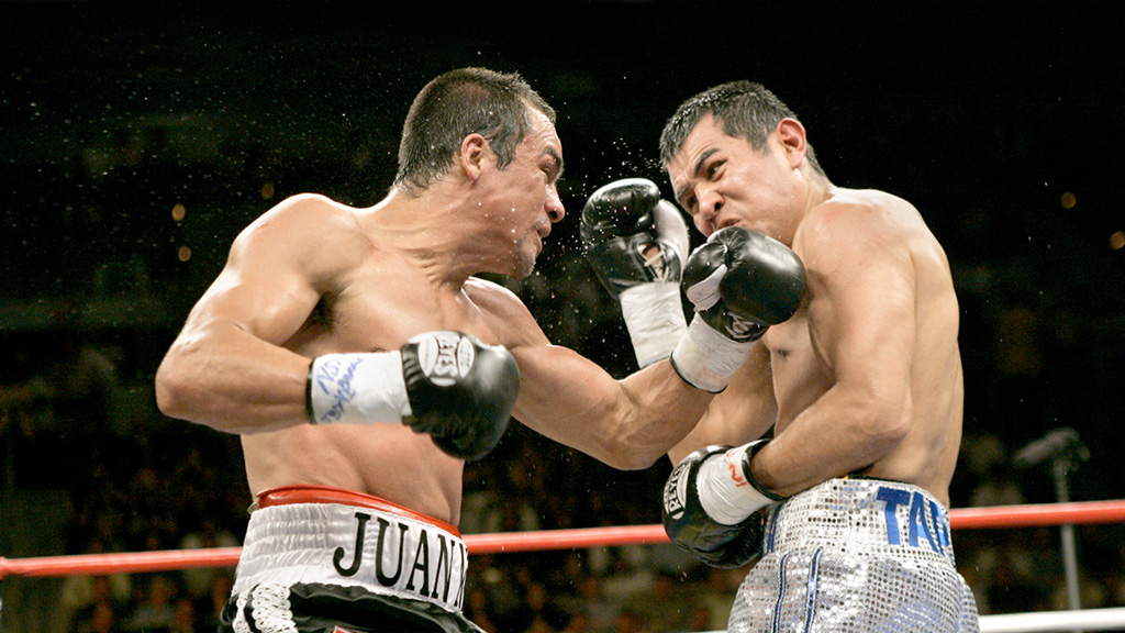 Barrera's last great fight was against Marquez