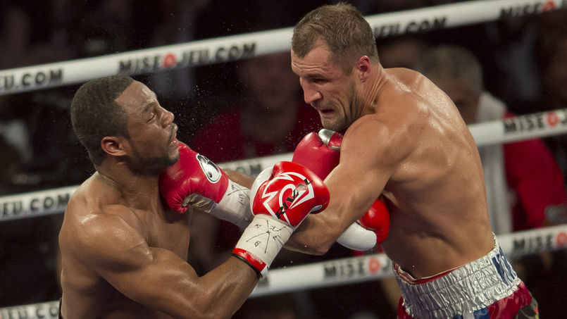 Kovalev did a job on Montreal's Jean Pascal
