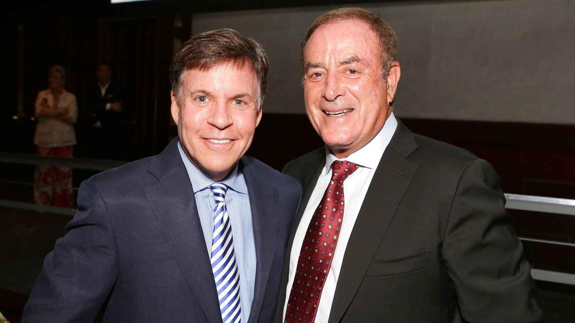Bob Costas and Al Michaels will be pushing PBC's agenda