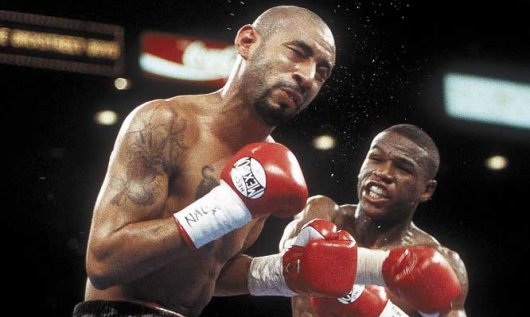 Mayweather's demolition of the dangerous Corrales validated his extraordinary talent