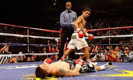 At his best Pacquiao was a destructive force of nature