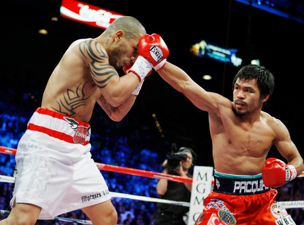 Cotto saw Pacquiao at the peak of his powers