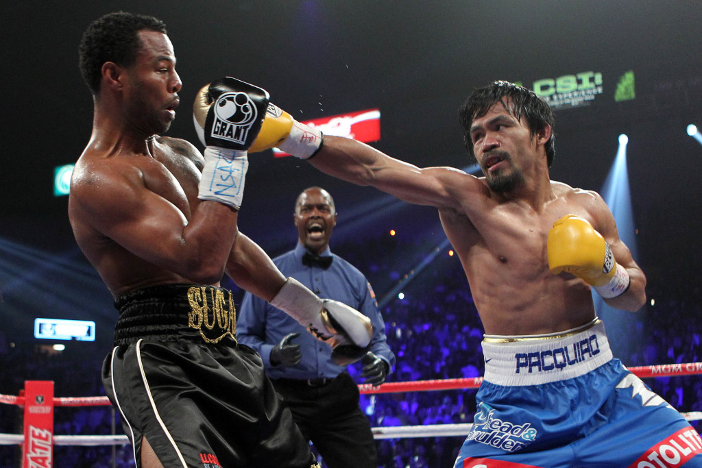 Pacquiao vs Mosley was a washout