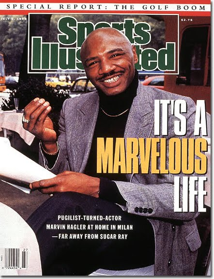 Hagler moved on from boxing and never looked back.