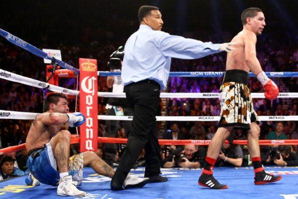 """Swift"" Garcia bested the fearsome Lucas Matthysse"