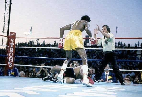 June 15 1984 Hearns Vs Duran The Hitman Shocks A Legend The Fight City