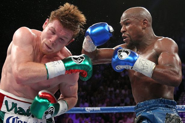 Floyd-Mayweather-Jr-and-Canelo-Alvarez