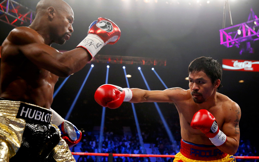 Floyd vs Manny: 12 rounds of tepid jousting.
