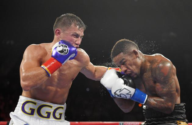 Golovkin's last outing was a demolition of Willie Monroe Jr.